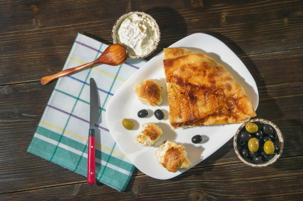 byrek pasta sfoglia albanese