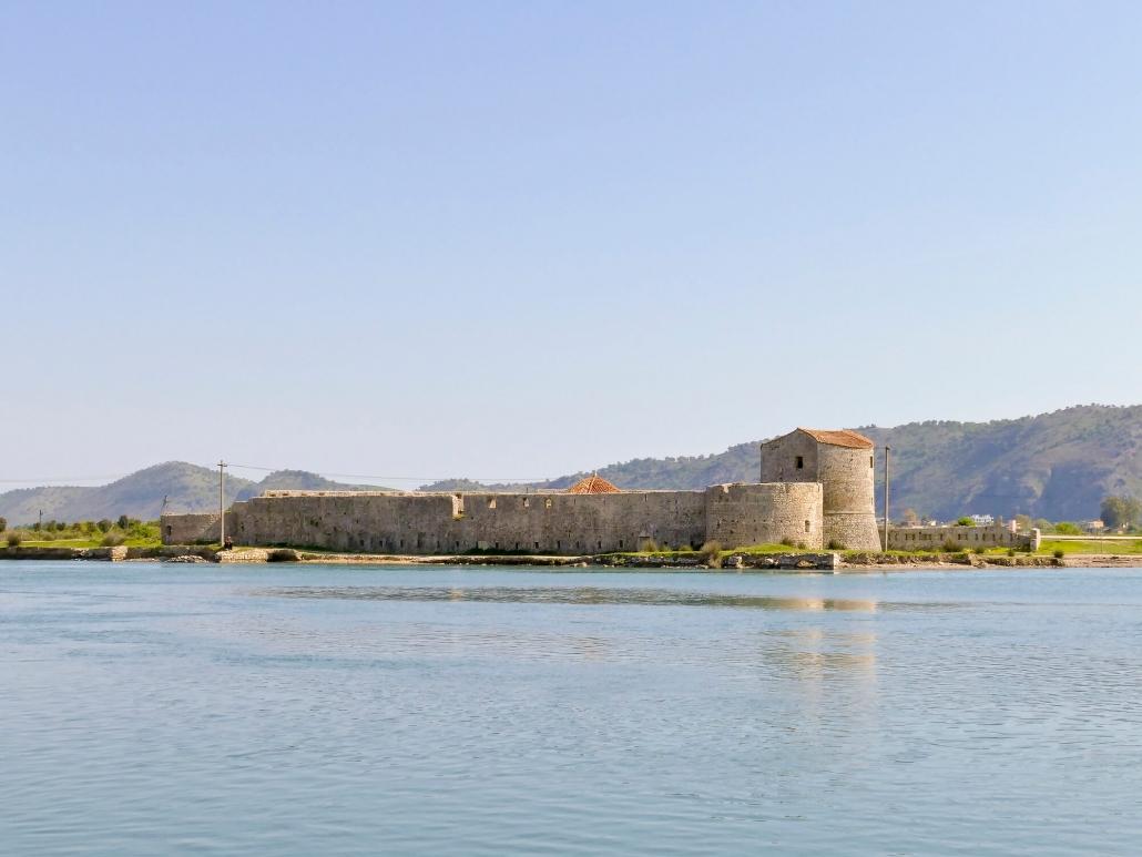 castello di Ali Pasha Tepelena a Saranda