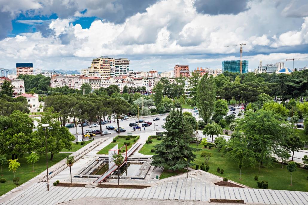 piazza a Tirana