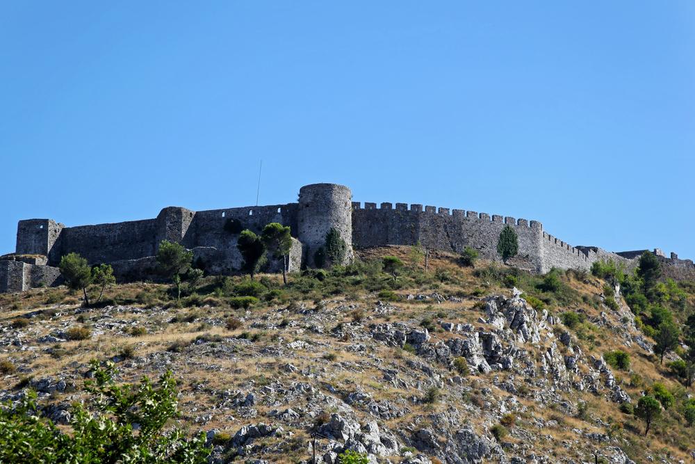 castello antico di Rozafa a Scutari