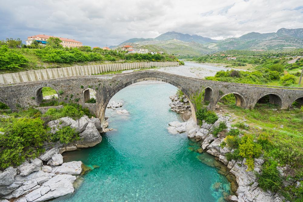 Ura e Mesit ponte antico a Scutari