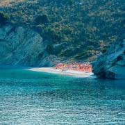 Spiaggia Pulebardha beach a Ksamil