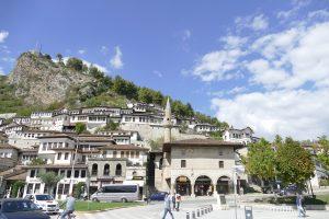 Le città principali in Albania