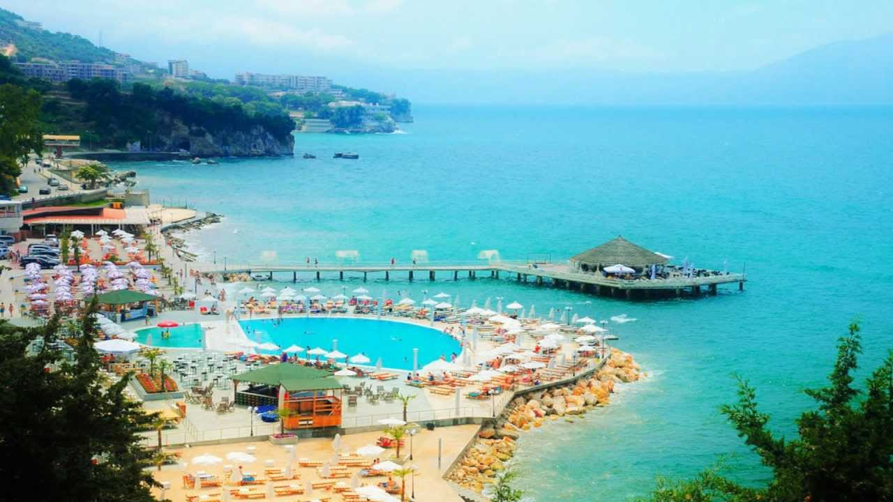 vista mar Ionio in Albania