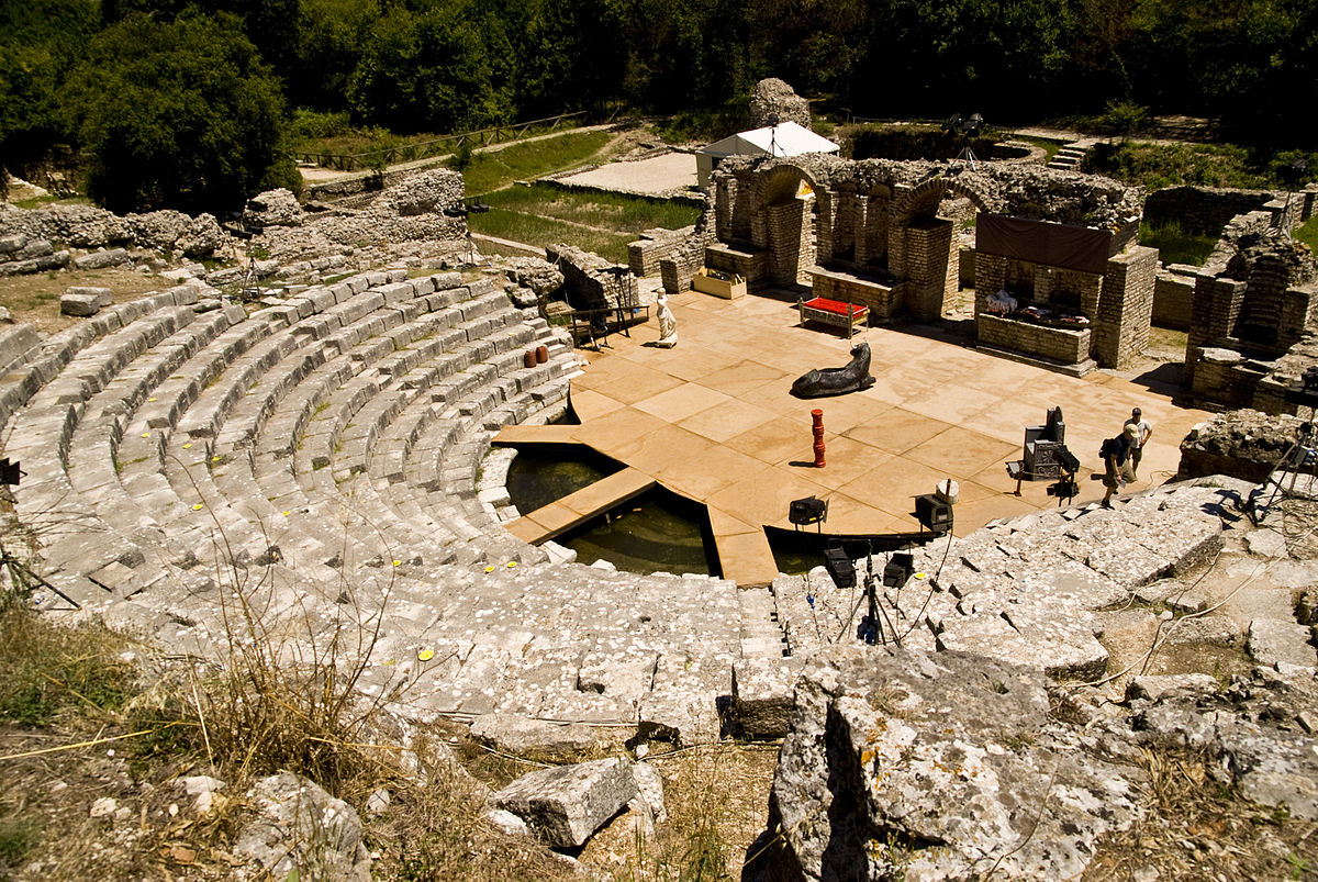 tempio di Butrinto in Albania