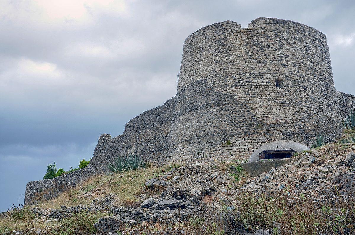 castello di Lekursi a Saranda